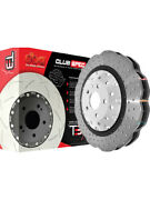 2 X Dba Cross-drilled And Dimpled Wave Rotor For Honda Atc250r Dba52808wv2slvxd