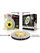 2 X Dba Xs Cross-drilled And Slotted Rotor Dba5575gldxs