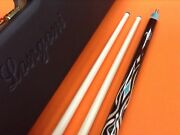 Longoni Carom Cue Leppens S30 Shafts And Patented Case Special Edition