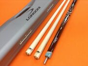 Longoni Carom Cue Leppens With S20 Shafts And Case
