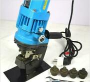 Jp-20 10t Electric Hydraulic Hole Puncher Steel Plate Hole Punching Machine 110v