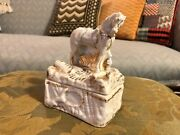 Victorian Horse Fairing Trinket Box Conta And Boehme Style