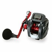 Line Counter Fishing Reel 6.31 13+1bb Left/right Hand Low Profile Fishing Reel