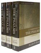 A Commentary On The Psalms 3 Volume Set By Ph.d. Ross Allen P New