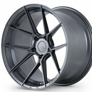4 New 20 Ferrada F8 Fr8 20x10.5 Graphite / Gunmetal Concave Wheels Rims B2