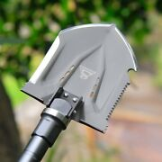 Outdoor Survival Tactical Folding Camping Shovel With Battle Axe Multitool 317