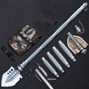 Outdoor Survival Tactical Folding Camping Shovel With Battle Axe Multitool 320