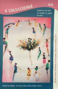Printed Poster With Paint By Ernesto Garcia Peandntildea 2013 . Collectable. Cuba