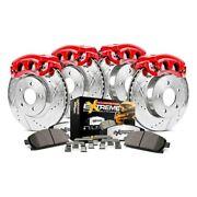 For Jeep Grand Cherokee 05-10 Brake Kit Power Stop 1-click Extreme Z36 Truck And
