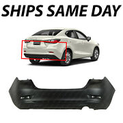 New Primered - Rear Bumper Cover Replacement For 2016-2020 Toyota Yaris Sedan