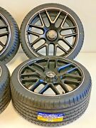 20 Mercedes Benz S550 Style Wheels Rims Amg S63 Silverli Staggered New Set Of 4