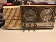 Arvin Clock Radio 1950s-60's For Parts