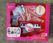 New Our Generation School Band 15 Piece Play Set For 18 Og Dolls American Girl