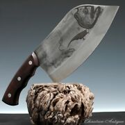 Meat Cleaver Chopping Knife Kitchen Knife High Manganese Steel Wrought Iron5275