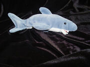 Ty Beanie Baby Andldquocrunch The Sharkandrdquo With Multiple Tag Errors