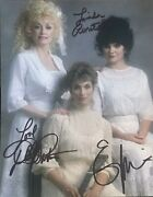 Dolly Parton , Linda Ronstadt And Emmylou Harris Signed Autographed Rare