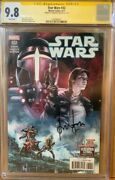 Han Solo 32 Cgc Signature Series 9.8 Signed By Harrison Ford Star Wars Comic