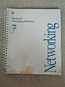Vintag Apple Macintosh Networking Reference System 7 Manual 030-3936-a Computer