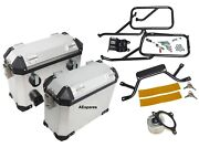 Panniers And Rails Genuine Set With Oil Filter For Royal Enfieid Himalayan Cdn