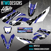 Wr125 Graphics Stickers To Fit Yamaha Wr 125 X Graphic Kit 09-18 Decal Kit 125x