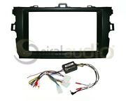 Radio Stereo Dash Kit Combo Standard And Oversized 2din + Swc Wire Harness Ty184