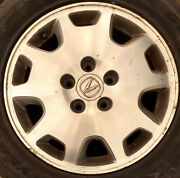Acura Rl 2003-2004 16 Inch Wheel Oem Silver With Goodyear Eagle Gt Tires