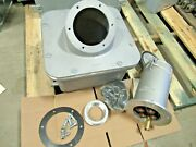 Appleton Ar40044 400a 600v Reverse Service Receptacle +base And Angle New- Ps114