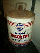 Vintage Skelly Oil Can Skelly Oil Company Fortified Tagolene