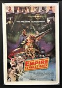 Empire Strikes Back Movie Poster Star Wars - Ohrai Artwork Hollywood Posters