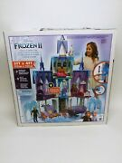Disney Frozen 2 Ultimate Arendelle Castle Playset W Lights And Moving Balcony New