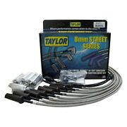 Taylor Cable Street Full Metal Jacket Ignition Wire Set Chrysler Small Block V8