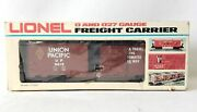 Lionel 6-9419 0 And 027 Gauge Up Union Pacific Freight Carrier Reefer Boxcar