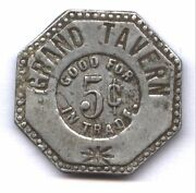 Grand Tavern Good For 5c In Trade Discovery Token  New On Line Catalog