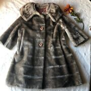 Vintage Women's 50s/60s Union-made Fur Jackets Coats One Size