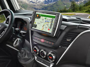 Alpine X903d-id 9andrdquo Touch Screen Pre-installed Motorhome Navigation For Iveco Dai