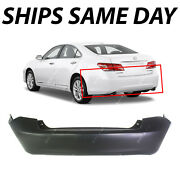 New Primered - Rear Bumper Cover Replacement For 2007-2012 Lexus Es350 07-12