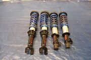 1994 94 Acura Integra Ls B18b 1.8l Aftermarket Fr Rr Shock And Springs 4430