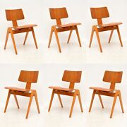 Set Of 6 Retro Hillestak Dining Chairs By Robin Day Vintage 1950and039s