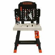 Black+decker Jr. Mega Power N' Play Workbench With Sounds - 52 Tools