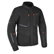 Oxford Mondial Advanced Laminate Waterproof Motorcycle Motorbike Jacket Black