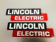 Lincoln Electric Welder Oem Replacement Decal/sticker Set 14 X 5