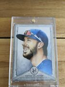 2019 Topps Museum Collection Kris Bryant 1/1 One Of One Canvas Collections Cubs