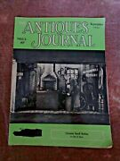 Antiques Journal 1960 Chinese Snuff Bottles Tall Case Clocks Railroad Cars Train