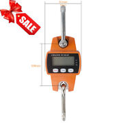New 300 Kg Mini Crane Scale Lcd Digital Industrial Hook Hanging Weight Hot Sale