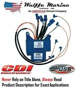 Cdi 113-3865 583865 Power Pack Cd Unit For Johnson Evinrude 150 175 Hp 1989-1991