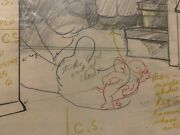 Hanna Barbera Jerry And The Lion Production Drawing Directions On Drawing