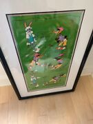 Bugs Bunny And Daffy Duck Signed Friz Freleng Golf