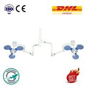 Fixed Ceiling Mount Led Surgical Medical Exam Light 3+3 Light Shadowless Lamp