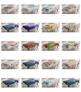 Ambesonne Colorful Abstract Tablecloth Table Cover For Dining Room Kitchen
