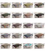Ambesonne Colorful Concept Tablecloth Table Cover For Dining Room Kitchen